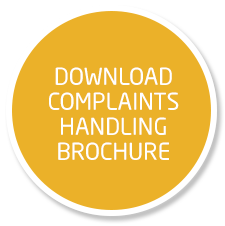 Download Complaints brochure