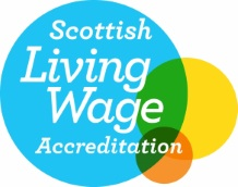 logo accreditation Living Wage Company