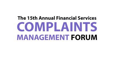 Financial Services Complaint Management Forum 2016