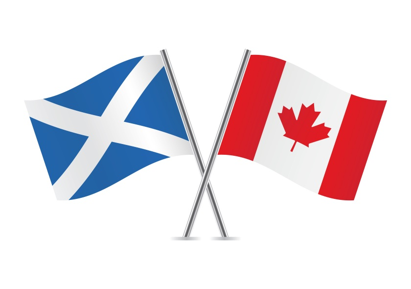 Healthy trade between Scotland and Canada