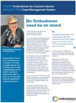 Ombudsman Cayman Islands Case Study
