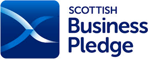logo accreditation Scottish Business Pledge