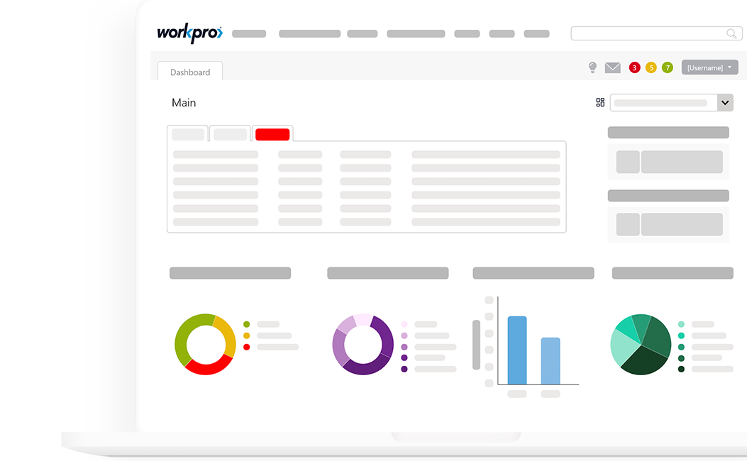 HR dashboard - Personal view